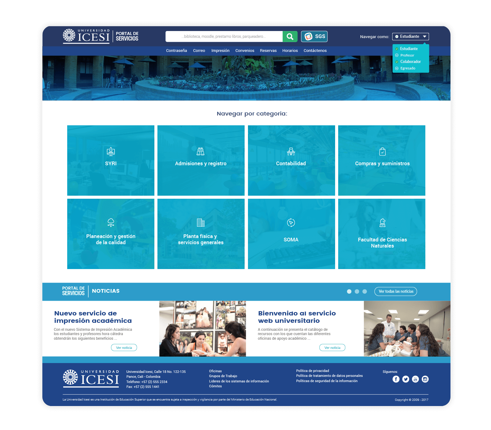 icesi-portal-of-services